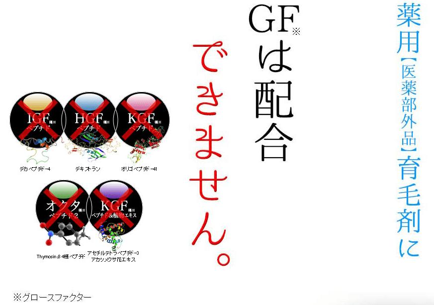 GF配合なし