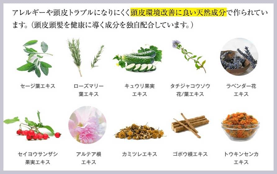 天然植物成分