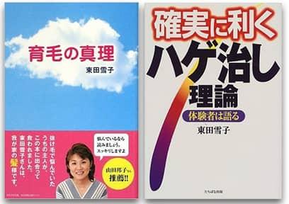 東田雪子氏の著書