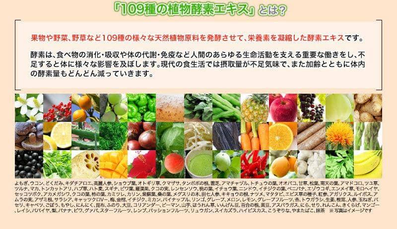 109種の野菜酵素エキス